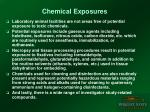 chemical exposures