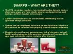 sharps what are they