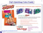 fuji s quicksnap colors family