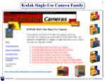 kodak single use camera family
