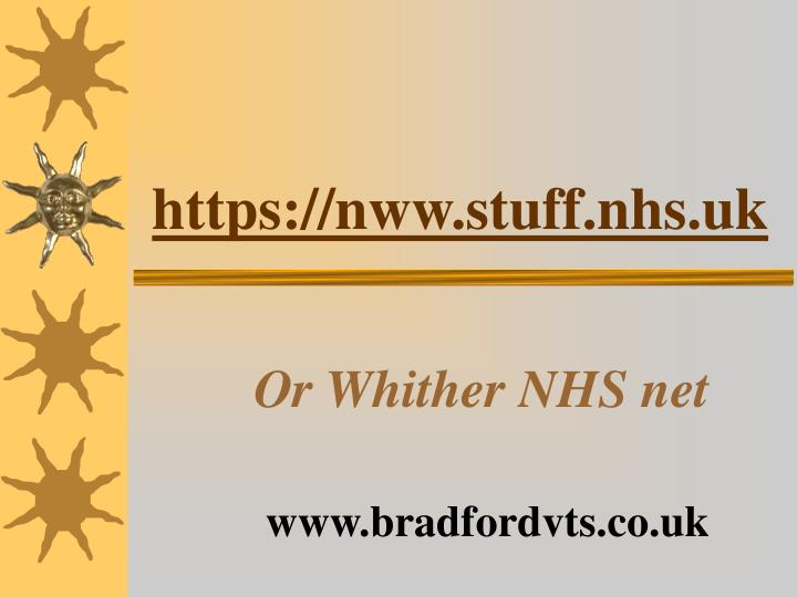 https nww stuff nhs uk n.