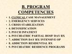 b program competencies