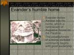 evander s humble home