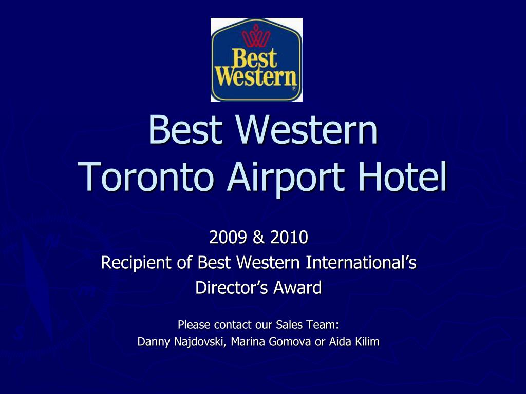 best western toronto airport hotel l.