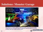 solutions monster garage
