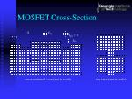 mosfet cross section