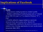 implications of facebook1