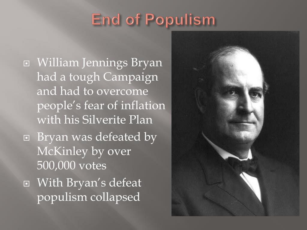 End of Populism