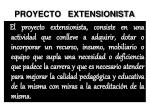 proyecto extensionista