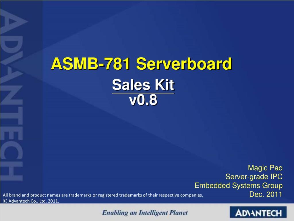 asmb 781 serverboard l.