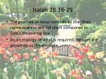 isaiah 28 16 29