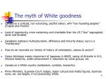 the myth of white goodness