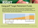 vanguard target retirement funds