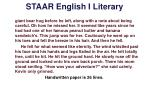 staar english i literary5