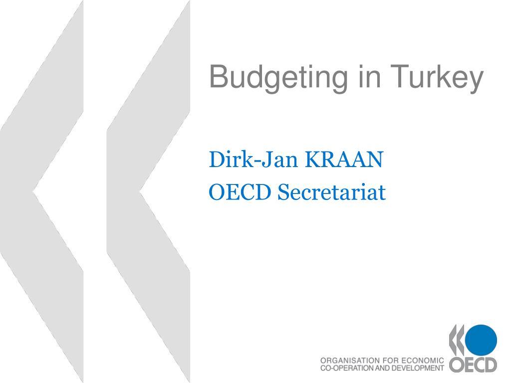 budgeting in turkey l.