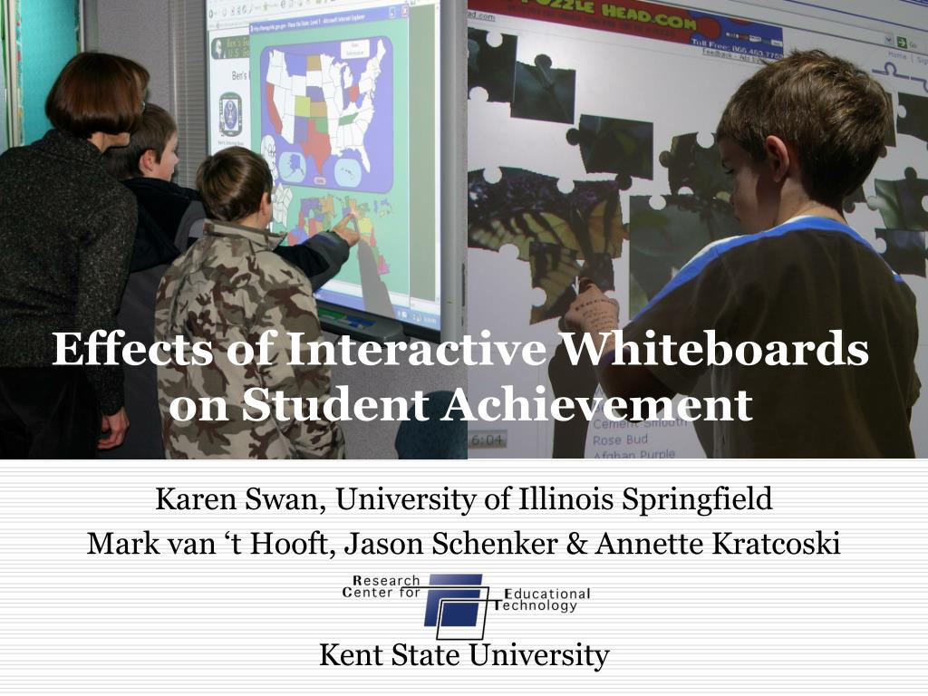 effects of interactive whiteboards on student achievement l.