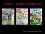 create design a community