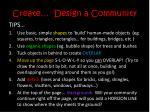 create design a community8