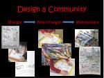 design a community