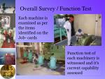 overall survey function test