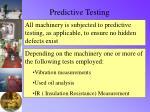 predictive testing