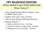 arng modular light brigade what vehicle