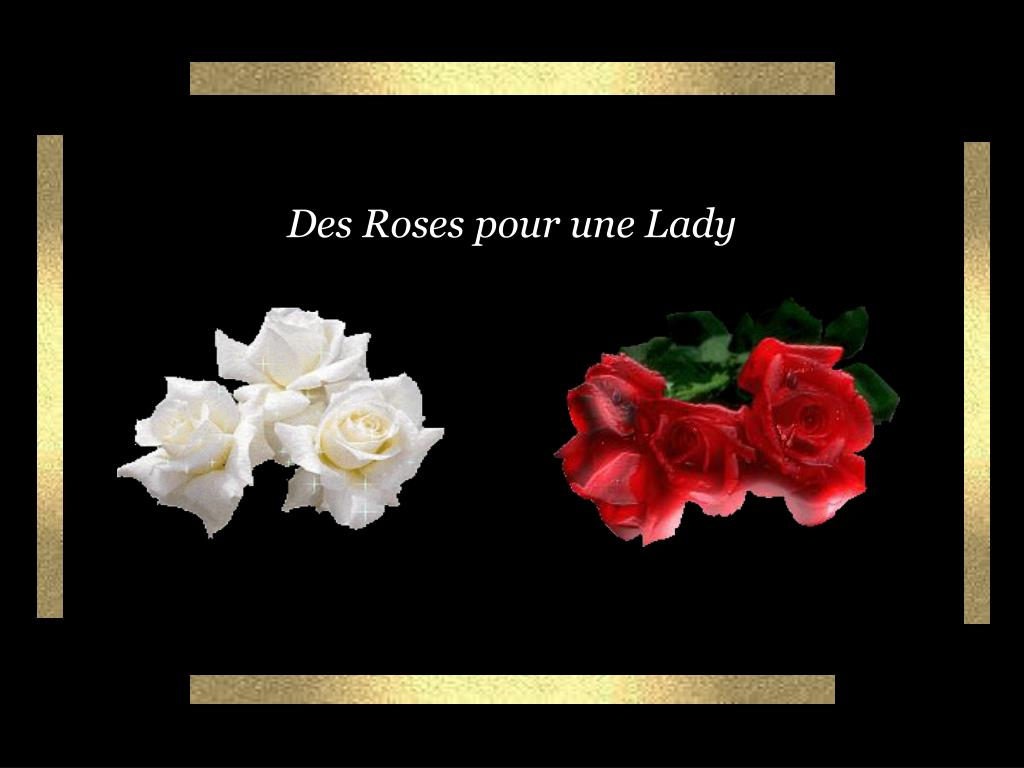 des roses pour une lady l.