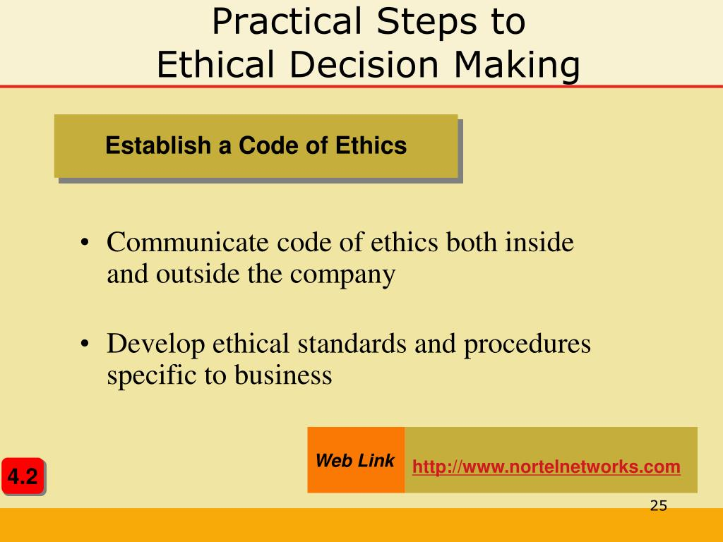 PPT - Chapter 4 Ethics and Social Responsibility PowerPoint