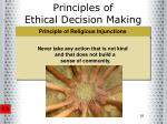 principles of ethical decision making18