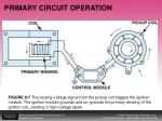 primary circuit operation12