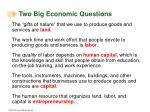 two big economic questions10