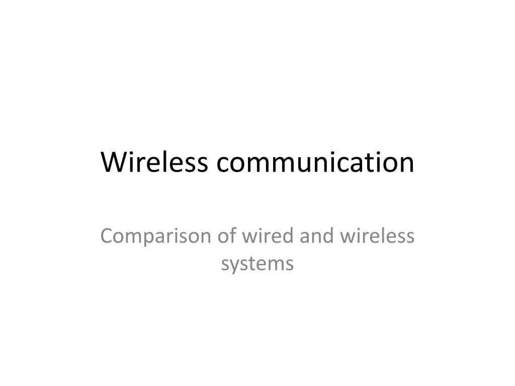 wireless communication l.