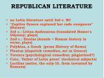 republican literature