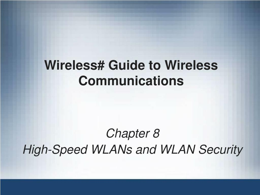wireless guide to wireless communications l.
