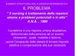 elementi strutturali della diagnosi infermieristica il problema11