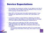 service expectations29