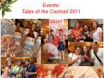events tales of the cocktail 2011