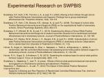 experimental research on swpbis9