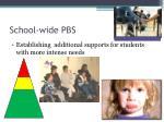 school wide pbs