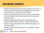 growing market