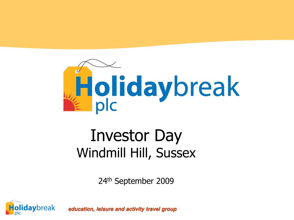 investor day windmill hill sussex 24 th september 2009 l.