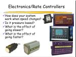 electronics rate controllers