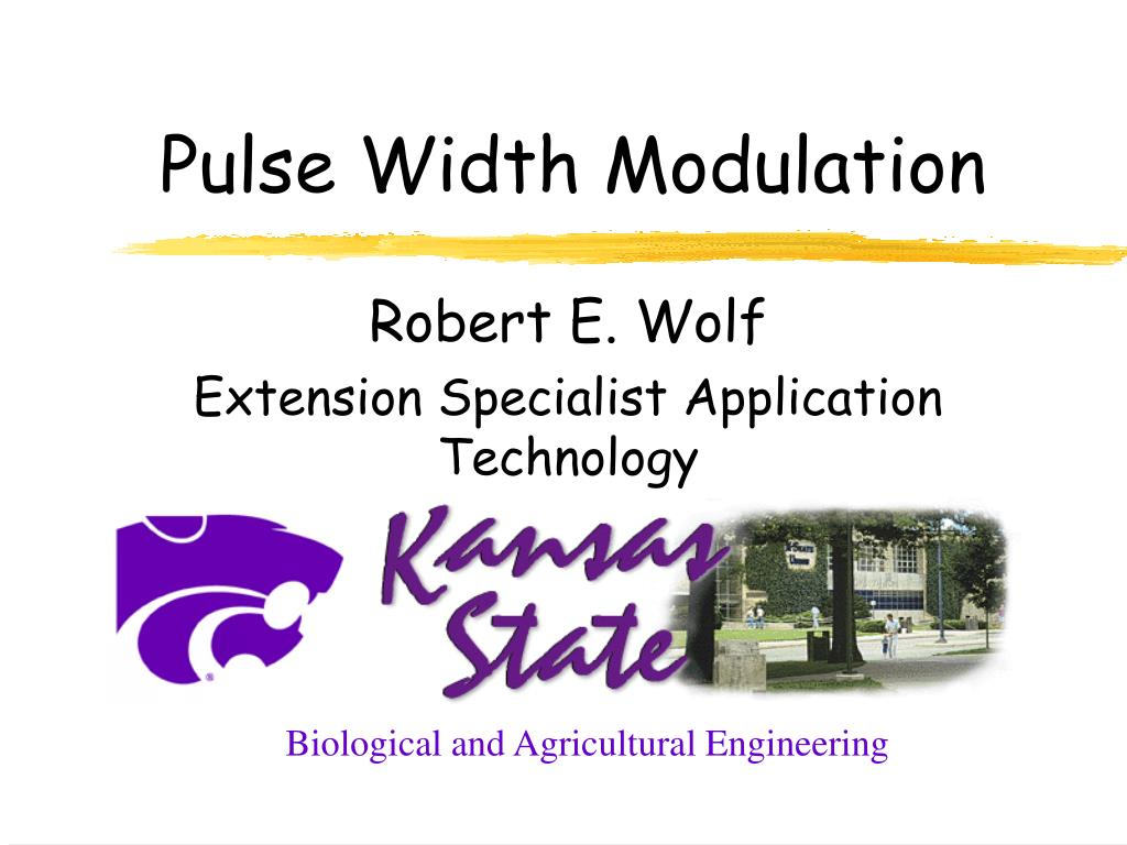 pulse width modulation l.