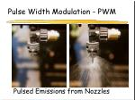 pulse width modulation pwm