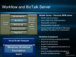 workflow and biztalk server