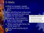 e mails