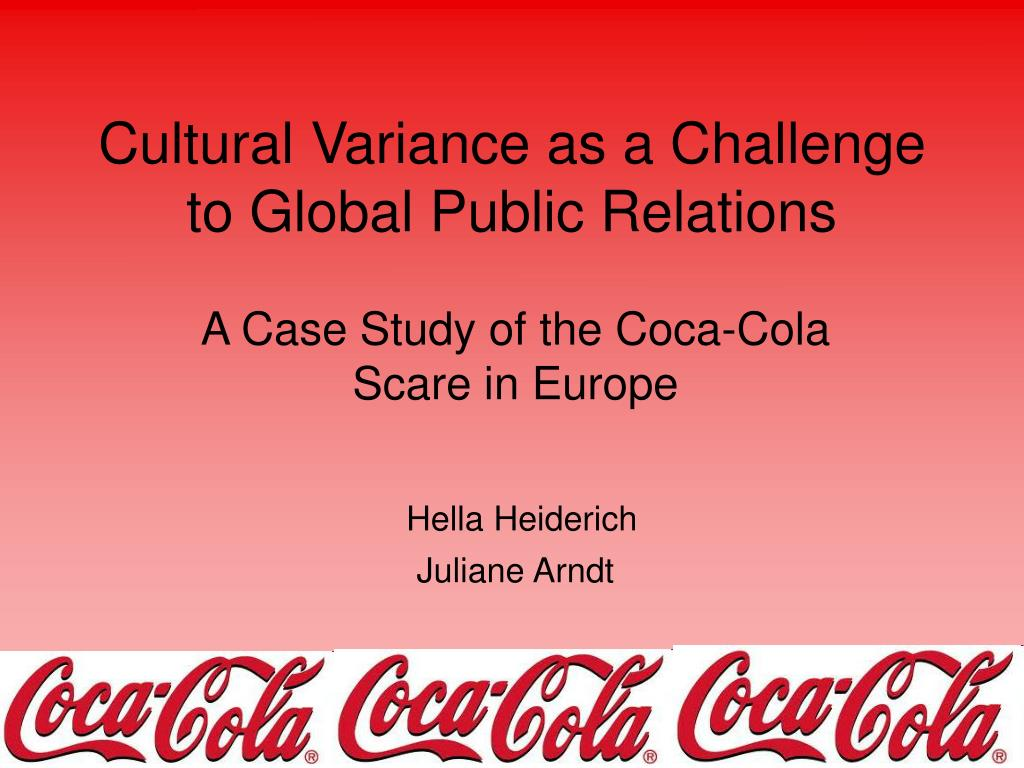 cultural variance as a challenge to global public relations l.
