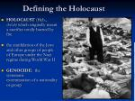 defining the holocaust