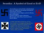 swastika a symbol of good or evil