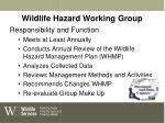 wildlife hazard working group
